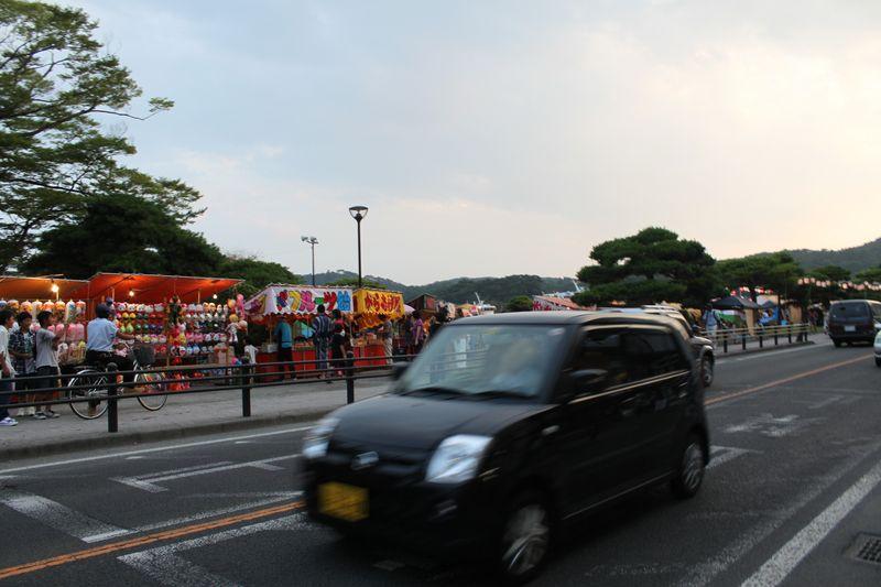 宮城の実家へ 松島